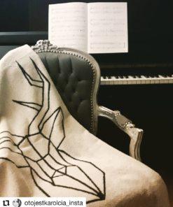 Zdjęcie ręcznik regal cotton #jeleń wykonane przez OtoJestKarolcia