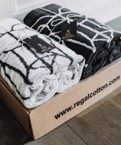 Zestaw bawełnianych Ręczników Regal Cotton jeleń (2 sztuki)