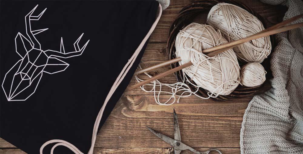 Zdjęcie bawełnianego worka Regal Cotton z jeleniem
