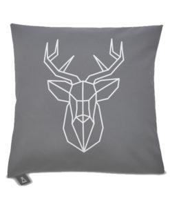 Poszewka dekoracyjna na poduszkę z jeleniem Regal Cotton